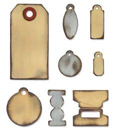 Bigz Die - Tiny Tabs & Tags by Tim Holtz - www.bastel-laden.ch