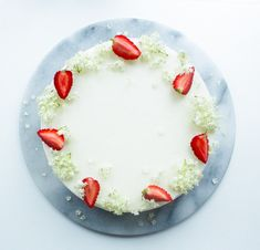 hyldeblomst cheesecake