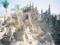 If you can make this sandcastle I would marry you.
