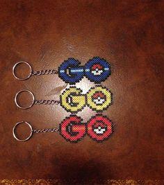 Pokemon Go perler beads by perler_teddy