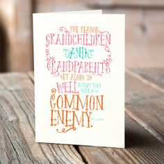 National Grandparents Day is September 13th and we've got you covered with this Grandparents Day Free Printable Card!