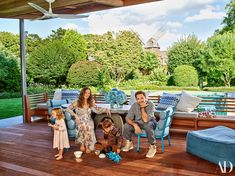 Robert Downey Jr. and his wife, producer Susan Downey, take a break from the fast lane in a magical Hamptons compound tailor-made for family fun