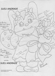 Trabalhos e riscos da artesã Sueli Andrade (tiradas da net) Fonte: https://www.facebook.com/supinturas ...