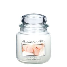 Fresh powder, lily, white vanilla Soft floral notes of lily of the valley are complemented by the scents of fresh baby powder and white vanilla in this calming candle. Refresh your home and feel every stress fade away. Burn duration: 85 – 105 hours Best Candles, Soy Candles, Scented Candles, Candle Jars, Candle Store, Candle Maker, Aromatherapy Candles, Baby Powder, Lily Of The Valley