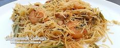 Mihoen Goreng | Indonesisch-Culinair.nl Indonesian Cuisine, Indonesian Recipes, Suriname Food, Asian Recipes, Ethnic Recipes, Pasta Noodles, No Cook Meals, Food For Thought, Low Carb Recipes