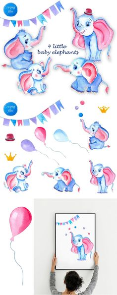 Cute elephant watercolor clipart Animals kids Baby shower Little characters happy birthday Baby nursery art, baby-born#animals #art #baby #babyborn #birthday #characters #clipart #cute #elephant #happy #kids #nursery #shower #watercolor Elephant Nursery Girl, Baby Nursery Art, Cute Elephant, Elephant Watercolor, Watercolor Animals, Happy Birthday Baby, Wedding Invitation Inspiration, Watercolor Pattern, Baby Born