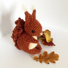 Coco The Squirrel  Amigurumi Pattern by irenestrange on Etsy, $5.00