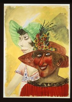 Otto Dix (1891-1969) Doncellas en domingo, (1923).