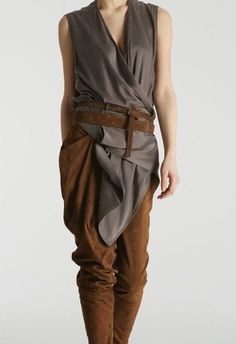 Hmm, I like something about this tunic – maybe for an archer costume. Hmm, I like something about this tunic – maybe for an archer costume. Archer Costume, Cool Outfits, Fashion Outfits, Womens Fashion, Ethno Style, Apocalyptic Fashion, Moda Boho, Character Outfits, Mode Inspiration