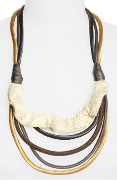 Matters of Space 'Katerina' Statement Necklace