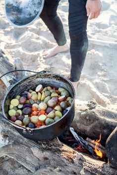 camp fire cooking