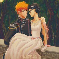 Rukia & Ichigo... The perfect couple!