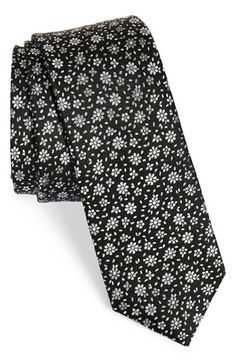 The Tie Bar Floral Silk Tie (Online Only) available at #Nordstrom