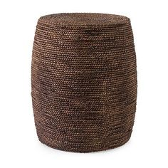 Camotes Seagrass Ottoman from BDS (67208), $174.00  Bronson