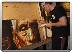Dave Sotogi adding final touches to Cherished Past