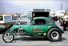 Vintage Drag Racing - Fuel Altered - The Genuine Suspension Boys