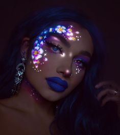 I Combine My Love For Art And Drawing With Makeup In 20 Glow