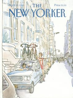 The New Yorker - Monday, April 22, 1985 - Issue # 3140 - Vol. 61 - N° 9 - Cover by : Arthur Getz