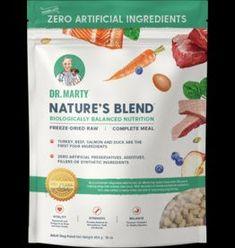 Dr. Marty's Dr. Marty's Freeze Dried Dog Food | Nature's Blend 16 oz Raw Pet Food, Dry Dog Food, Dog Food Ratings, Frozen Dog, Beef Liver, Dog Food Brands, Complete Nutrition, Natural Preservatives, Freeze Drying