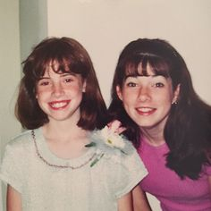 #tbt to my 5th grade graduation with my sister