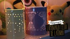 #blogringCH: Bruna Vieira ensina a fazer uma luminária fofa com lata