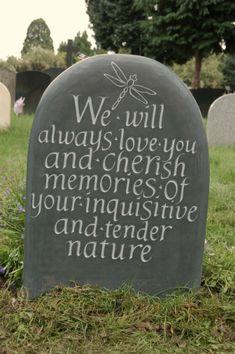 childrens memorial headstone