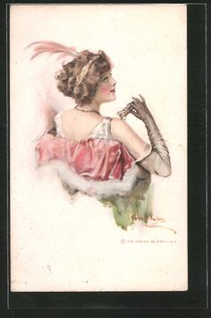 Ladies / Woman without hat | Ladies / Woman / Fashion | Page 12 | old Postcards