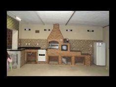 churrasqueira de alvenaria completa passo a passo em betim - YouTube