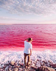 Namibia Pink lake Unicorn tears