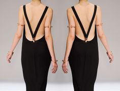 ::: OutsaPop Trashion ::: DIY fashion by Outi Pyy :::: Suspender dress