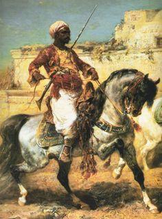 IMEHA True Historical: Historical Nomadic Bedouin, Persian/Turkish, Mameluke, 19th Century, Original Dancing Arab
