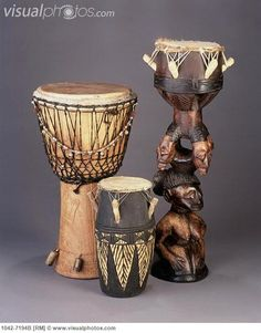 West African Drums add to the decor and attendees will have the opportunity to play the drums or to purchase a drum at the market stalls.