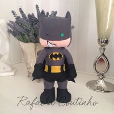Batman feltro - adaptado da apostila Linda Lolita