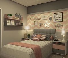 Girl Bedroom Ideas #Bedroom #girlbedroom #girlbedroomideas