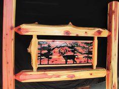 red cedar bed | Cedar Log Beds By Cedar Bluff Furniture