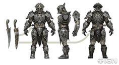 Shadow of War Orc Tribes Concept Art Sci Fi Fantasy, Fantasy World, Dark Fantasy, Warcraft Characters, Fantasy Characters, Game Concept Art, Character Concept, Goblin, Arsenal
