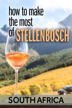 One of the most popular regions in South Africa is Stellenbosch. This wine area is more than just a day trip from Cape Town. There is lots to do in Stellenbosch and I want to tell you why it's worth visiting! Africa Destinations, Amazing Destinations, Travel Destinations, Travel Tips, Travel Ideas, Wine Safari, African Safari, Africa Travel, Day Trip