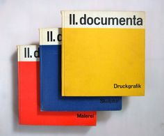 Three Documenta 2 catalogues  1959 by ladybakelite on Etsy