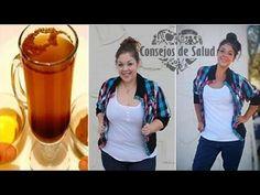Ella perdió 7 kilos en sólo 10 días con ayuda de esta maravillosa bebida casera - YouTube