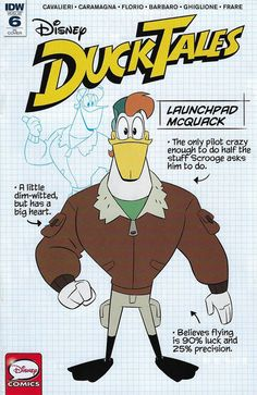 Comics based on the DuckTales 2017 continuity are being produced by Disney Publishing Worldwide since In comparison with the DuckTales 1987 comics, the stories based on the reboot series are notably closer tied to the cartoons, in both scripts and layout. Disney Fun, Disney Pixar, Disney Movies, Cartoon Pics, Cartoon Characters, Duck Cartoon, Comic Book Covers, Comic Books, Disney Ducktales