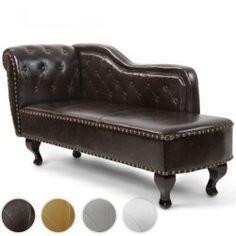 Loungesohva / divaani, 329,95€. Mukava ja tyylikäs leposohva perinteisellä Chesterfield mallilla. Divaani/sohva on todellinen katseenvangitsija olohuoneessa tai takkahuoneessa. #sohva #divaani