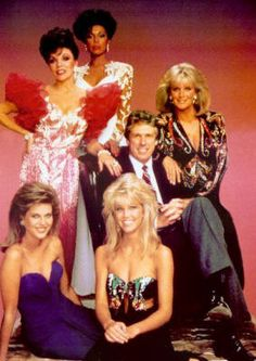 dynasty: My first taste of glamour though my family thought I was waay too young to be watching this. DA