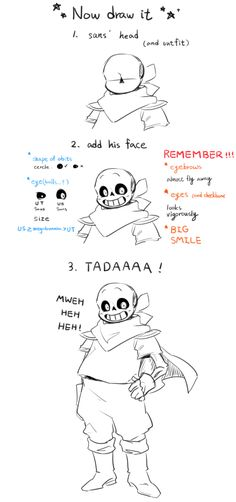 How does one draw underswap Sans I need to know,. Undertale Comic Funny, Undertale Love, Undertale Memes, Undertale Drawings, Undertale Fanart, Drawing Base, Drawing Tips, Sans Drawing, Art Reference Poses