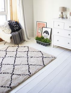 Living With White Floorboards. (via Bloglovin.com )