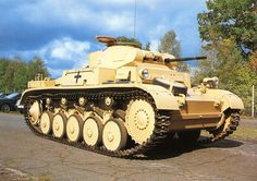PzKpf II Ausf. A-C (Sd. Kfz 121) at Panzermuseum Munster