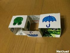 2種類の絵が描かれたちょっぴり不思議な四角いパズル。クルクルまわして…どうしたら全部同じ絵になるだろう?ついつい夢中になってしまう!考える力も鍛えられそうな手作りパズル。 Education And Training, Printable Paper, Paper Toys, Preschool Crafts, Cool Kids, Kids Toys, Origami, Coasters, Diy And Crafts