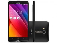"""Smartphone Asus ZenFone 2 Laser 16GB Preto - Dual Chip 4G Câm 13MP + 5MP Tela 5.5"""" HD Quad core em até 10x de R$ 119,99 sem juros no cartão de crédito  ou R$ 1.079,91 à vista"""