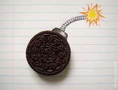 Cool Art Drawings, Art Drawings Sketches, Easy Drawings, Oreo Bomb, Systems Of Equations, Surrealism Photography, Creative Artwork, Math Classroom, Disney Wallpaper
