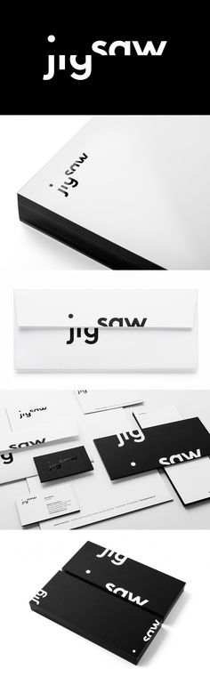 New identity for Jigsaw by pentagram