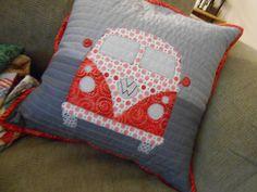 VW Pillow for Jon and Kristen by durablegoods on Flickr.I LOVE this!